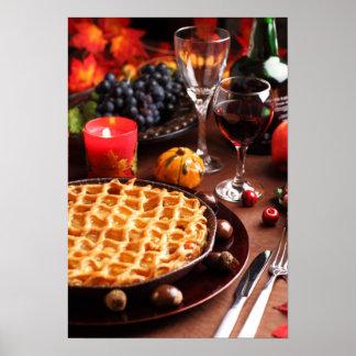 Tarte aux pommes pour le thanksgiving poster