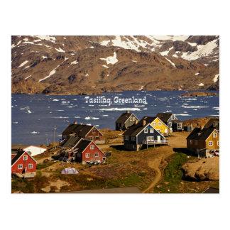 Tasiilaq, Greenland Postcard