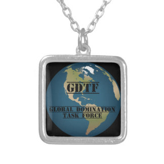 Task Force Gear Silver Plated Necklace