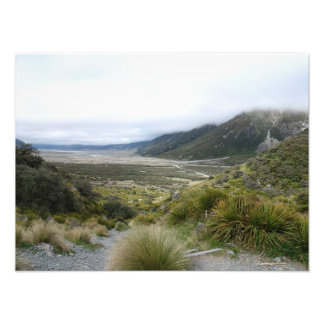 Tasman Valley, Southern Alps, New Zealand Photograph