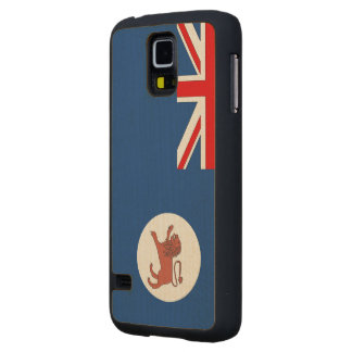 Tasmania Flag Carved® Maple Galaxy S5 Slim Case