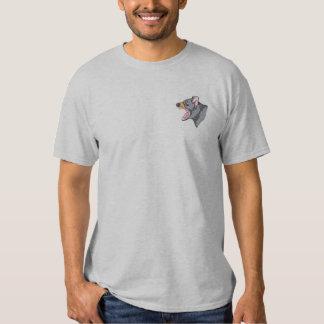 Tasmanian Devil Embroidered T-Shirt