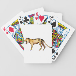 Tasmanian tiger, Thylacine Bicycle Playing Cards