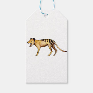Tasmanian tiger, Thylacine Pack Of Gift Tags