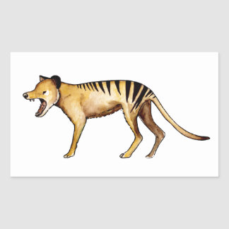 Tasmanian tiger, Thylacine Sticker