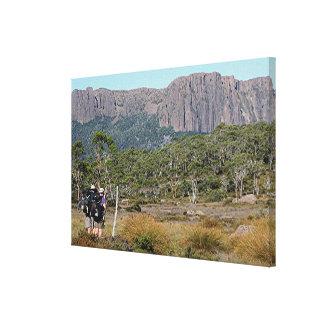Tasmania's Overland Track Canvas Print
