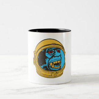 Tasse 2 Couleurs Monkey from Space