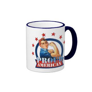 Tasse américaine fière de sonnerie de rivoir de Ro