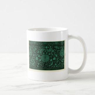 Tasse bleue de jardin d'agrément