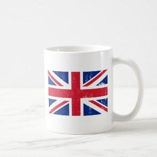 Tasse britannique de drapeau d Union Jack