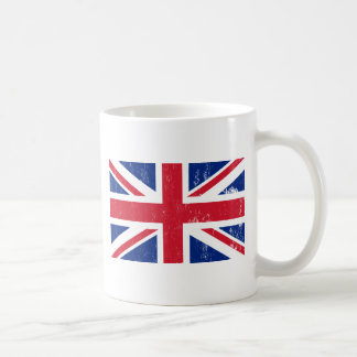 Tasse britannique de drapeau d'Union Jack