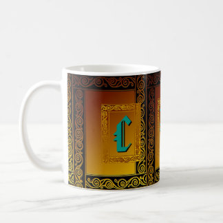 Tasse celtique faite sur commande d'initiales