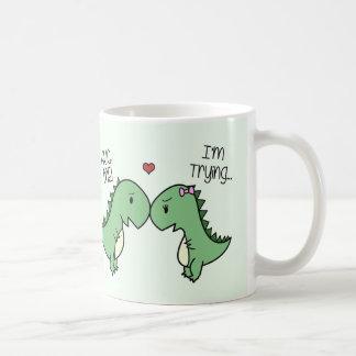 Tasse d'amour de Dino ! [En vert]
