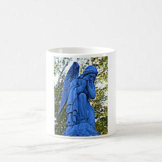Tasse d'ange bleu