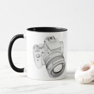 Tasse d'appareil-photo