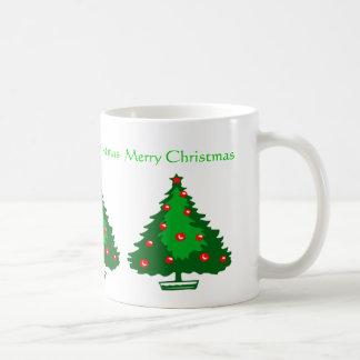 Tasse d'arbre de Noël
