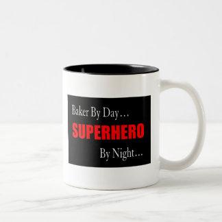 Tasse de Baker de super héros