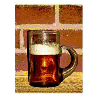 Tasse de bière cartes postales