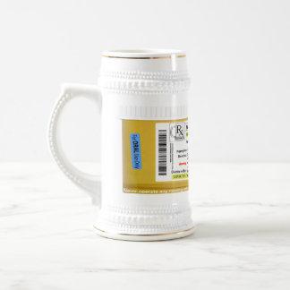 Tasse de bière de prescription de RX