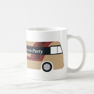 Tasse de bus touristique