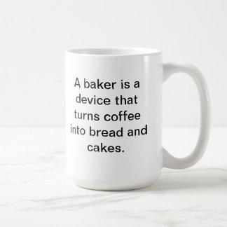 Tasse de café de Baker