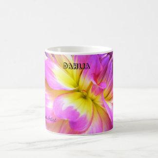 Tasse de café de dahlia