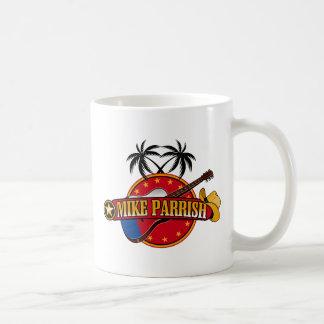 Tasse de café de logo de Mike Parrish