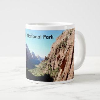 Tasse de café de parc national de Zion