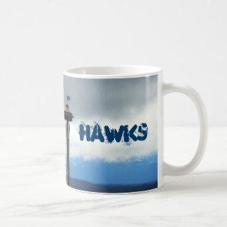 Tasse de café de passioné du football de Seattle