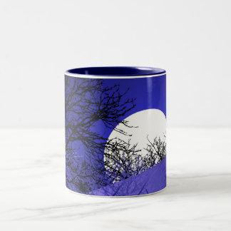 Tasse de café de pleine lune