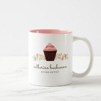 Tasse de café personnalisable d'artiste de sucre