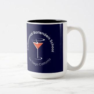 Tasse de café professionnelle d'école de barman