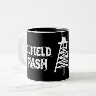 Tasse de déchets de gisement de pétrole