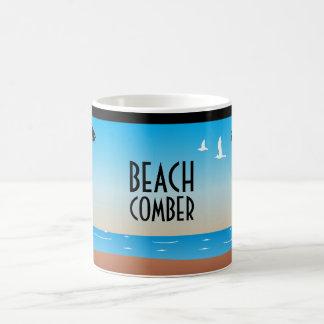 Tasse de déferlante de plage