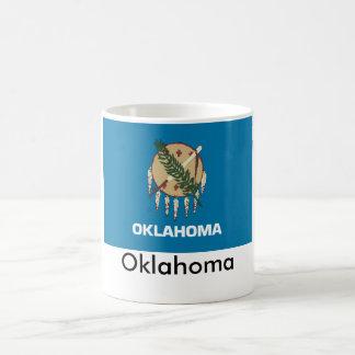 Tasse de drapeau d'état de l'Oklahoma