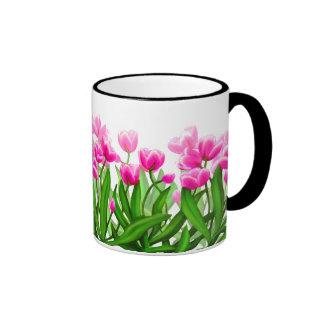 Tasse de jardin de tulipe de ressort