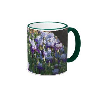 Tasse de jardin d'iris
