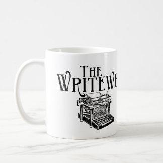 Tasse de logo d'académie de Writewell