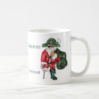 Tasse de Noël de pirate de Père Noël