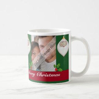 Tasse de photo de Noël