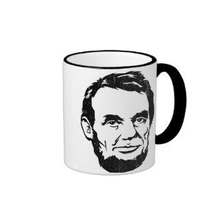 Tasse de portrait d Abraham Lincoln