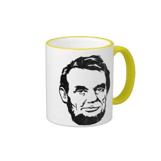 Tasse de portrait d'Abraham Lincoln