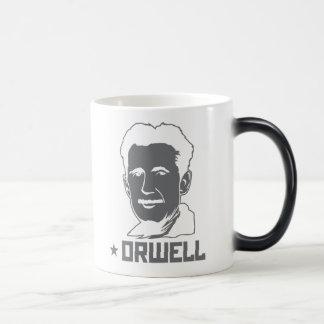 Tasse de portrait de George Orwell