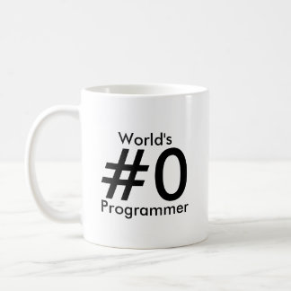 Tasse de programmeur du #0 du monde