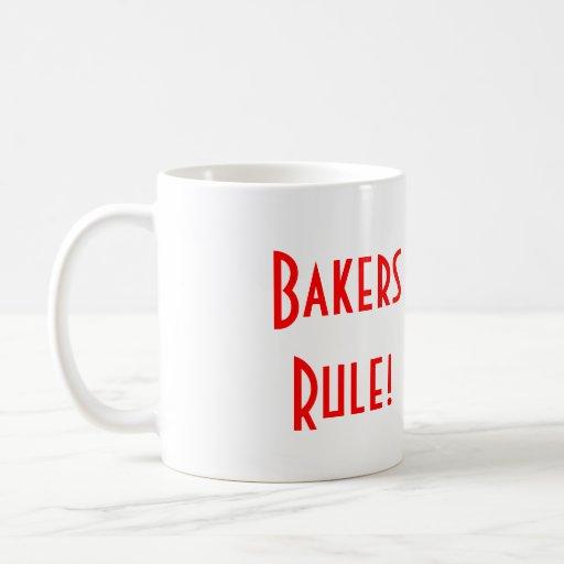 Tasse de règle de boulangers
