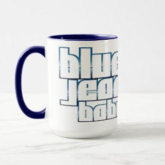 Tasse de sonnerie de bébé de blue-jean