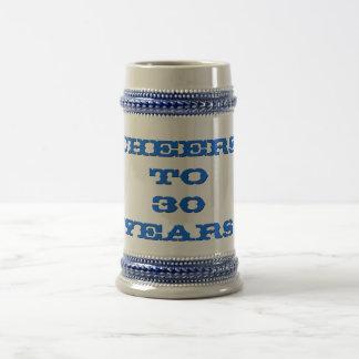 Tasse de Stein de bière d'années de travail d'âge