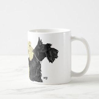 Tasse de Terrier d écossais