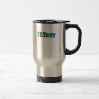 Tasse de voyage de Tiffany