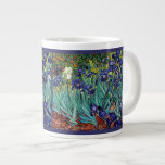 Tasse d'éléphant de Van Goghs Irises Mug Extra Large